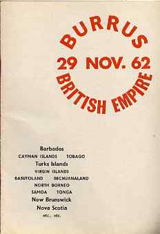 Auction Catalogue - British Empire with Barbados, Caymans, Tobago, Turks, Virgins, Basutoland, Bechuanaland, N Borneo, Samoa, Tonga, New Brunswick & Nova Scotia - Robson ...