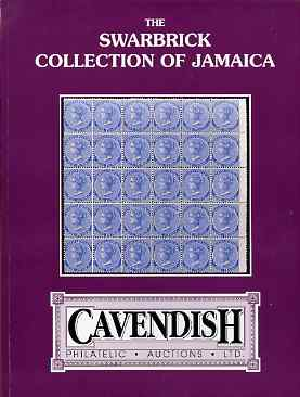 Auction Catalogue - Jamaica - Cavendish 29 Sept 1995 - the Swarbrick coll - cat only