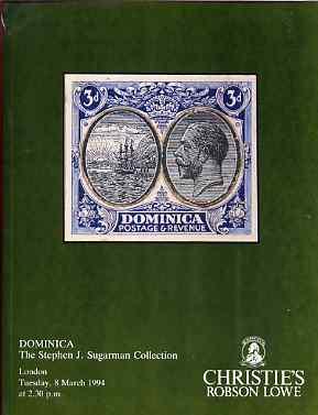 Auction Catalogue - Dominica - Christie
