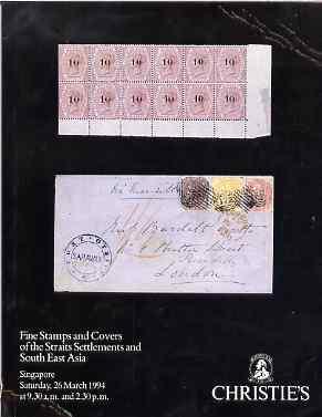 Auction Catalogue - Straits Settlements & South East Asia - Christie