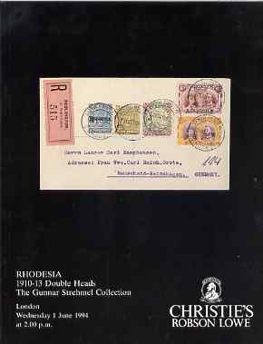 Auction Catalogue - Rhodesia - Christie
