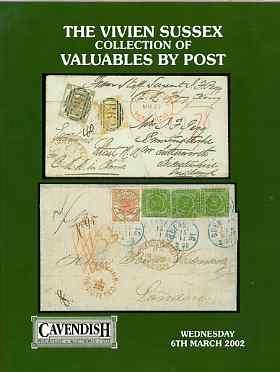 Auction Catalogue - Valuables by post - Cavendish 6 Mar 2002 - The Vivien Sussex coll - cat only