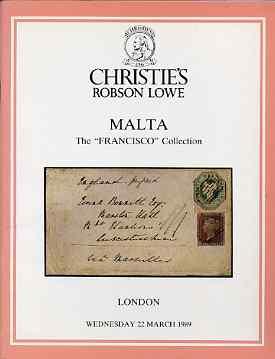 Auction Catalogue - Malta - Christie