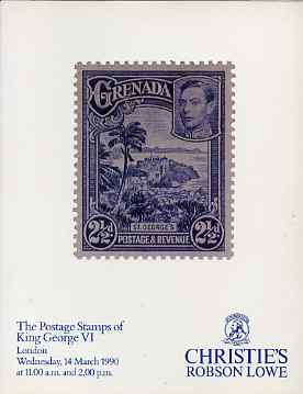 Auction Catalogue - King George VI - Christie