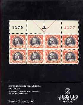 Auction Catalogue - United States - Christie