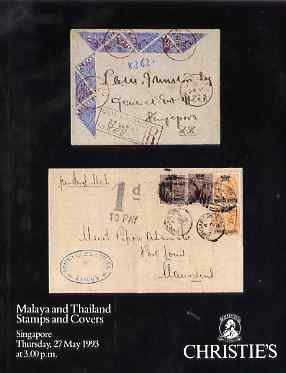 Auction Catalogue - Malaya & Thailand - Christie