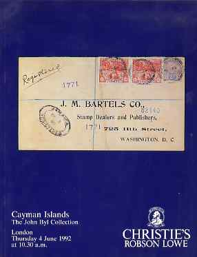Auction Catalogue - Cayman Islands - Christie