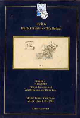 Auction Catalogue - Worldwide & Turkey - Isfila 11-12 Mar 1995 - cat only