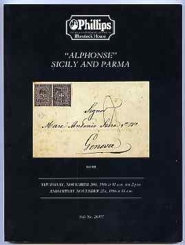 Auction Catalogue - Sicily & Parma - Phillips 20-21 Nov 1986 - the