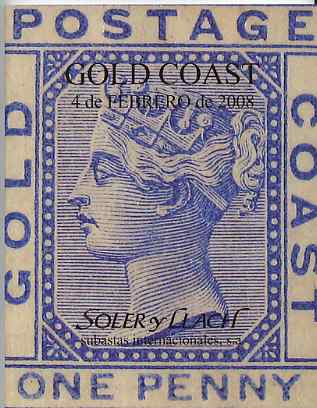 Auction Catalogue - Gambia - Soler & Llach (Spain) 4 Feb 2008 - English text estimates in Euros - cat only