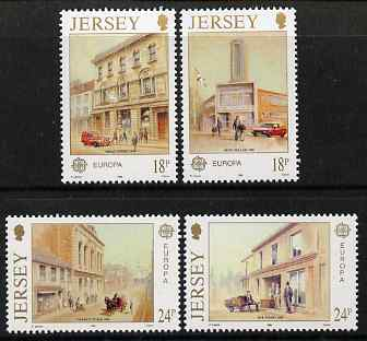 Jersey 1990 Europa - Post Office Buildings set of 4 unmounted mint, SG 517-20