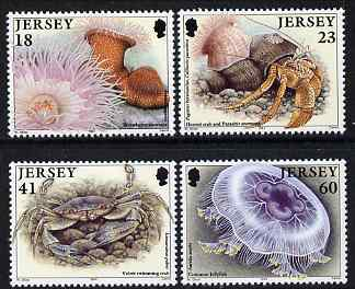 Jersey 1994 Marine Life set of 4 unmounted mint, SG 670-73