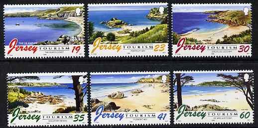 Jersey 1996 Tourism - Beaches set of 6 unmounted mint, SG 752-57