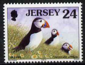 Jersey 1997-99 Seabirds & Waders 24p Atlantic Puffin 24p (with copyright symbol after date), unmounted mint SG 784a