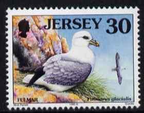 Jersey 1997-99 Seabirds & Waders 30p Fulmar unmounted mint SG 790