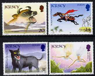 Jersey 1997 Europa - Tales & Legends set of 4 unmounted mint SG 813-16