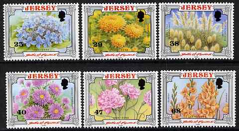 Jersey 2002 Centenary of Battle of Flowers Parade set of 6 unmounted mint, SG 1053-58