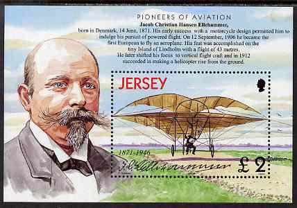 Jersey 2003 Centenary of Powered Flight perf m/sheet unmounted mint, SG MS1080