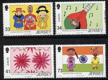 Jersey 2006 Europa - Children's Stamp Designs set of 4 unmounted mint, SG 1260-63