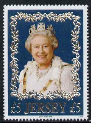 Jersey 2006 80th Birthday Queen Elizabeth II \A35 unmounted mint, SG 1272
