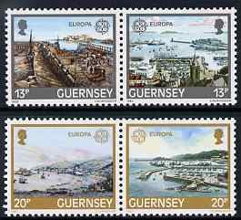 Guernsey 1983 Europa - Development of St Peter Port Harbour set of 4 unmounted mint, SG 273-76