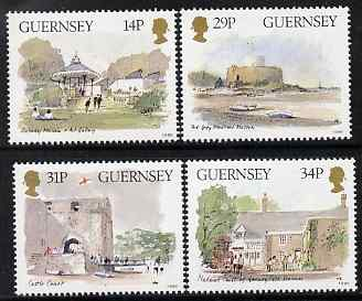 Guernsey 1986 Centenary of Guernsey Museum set of 4 unmounted mint, SG 377-80