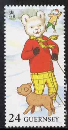 Guernsey 1993 Rupert Bear 24p unmounted mint, SG 605