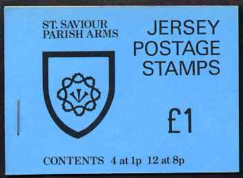 Booklet - Jersey 1978 Parish Arms (St Saviour) �1 booklet complete, SG B28