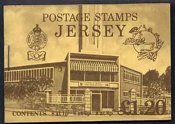 Booklet - Jersey 1979 Jersey Post Office Headquarters �1.29 booklet complete, SG B29