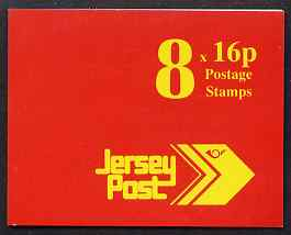Booklet - Jersey 1992 Jersey Post �1.28 booklet complete, SG B46