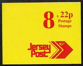 Booklet - Jersey 1992 Jersey Post �1.76 booklet complete, SG B47