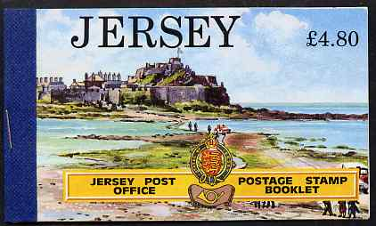 Booklet - Jersey 1991 Jersey Scenes �4.80 booklet complete, SG B43