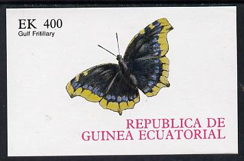 Equatorial Guinea 1977 Butterflies 400ek imperf m/sheet unmounted mint. NOTE - this item has been selected for a special offer with the price significantly reduced