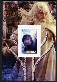 Liberia 2003 Lord of the Rings #3 imperf s/sheet unmounted mint