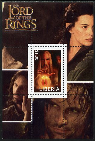 Liberia 2003 Lord of the Rings #5 perf s/sheet unmounted mint