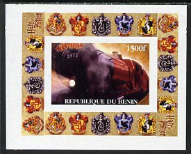 Benin 2001 Harry Potter #1 individual imperf deluxe sheet unmounted mint