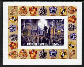 Benin 2001 Harry Potter #2 individual imperf deluxe sheet unmounted mint