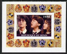 Benin 2001 Harry Potter #3 individual imperf deluxe sheet unmounted mint                                                                                                  ...