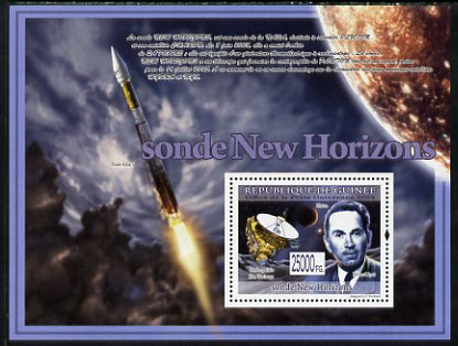Guinea - Conakry 2009 New Space Probes perf s/sheet unmounted mint