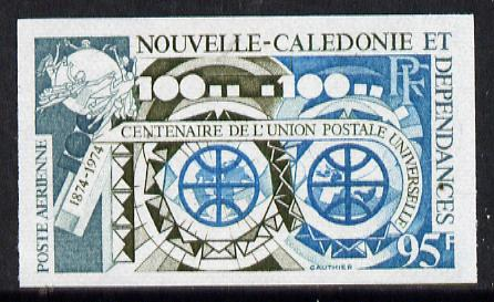 New Caledonia 1974 UPU (Telecommunications) imperf colour trial proof (SG 544) several different colour combinations available but price is for ONE unmounted mint