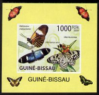 Guinea - Bissau 2009 Butterflies individual imperf deluxe sheet #2 unmounted mint. Note this item is privately produced and is offered purely on its thematic appeal