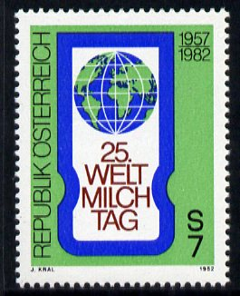 Austria 1982 World Dairying Day unmounted mint, SG 1932