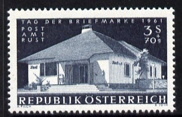 Austria 1961 Stamp Day - Rust Post Office - unmounted mint, SG 1378