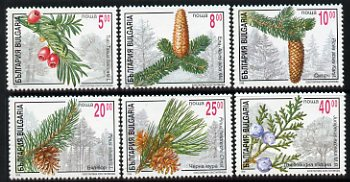 Bulgaria 1996 Conifers perf set of 6 unmounted mint SG 4065-70