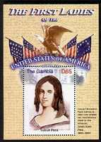 Gambia 2007 The First Ladies of USA - Sarah Polk perf m/sheet unmounted mint SG MS 5098p
