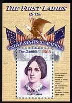 Gambia 2007 The First Ladies of USA - Mary Taylor perf m/sheet unmounted mint SG MS 5098r