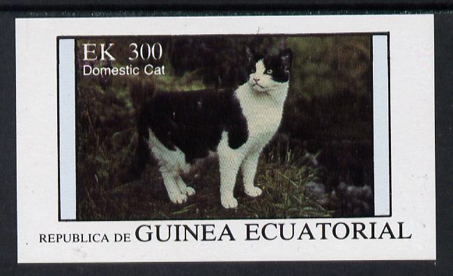 Equatorial Guinea 1976 Cats 300ek imperf m/sheet unmounted mint