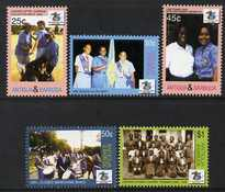 Antigua 2006 75th Anniversary of Antigua & Barbuda Girl Guides set of 5 unmounted mint, SG 3984-88