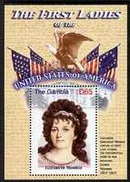 Gambia 2007 The First Ladies of the USA - Elizabeth Monroe perf m/sheet unmounted mint SG MS 5098f