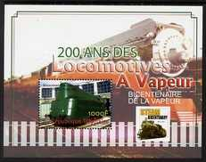 Togo 2004 Bicentenary of Steam Locomotives perf m/sheet (Streamlined Tank Locomotive) unmounted mint. Note this item is privately produced and is offered purely on its thematic appeal